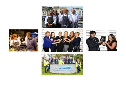 Montage of award winning apprenticeship employers