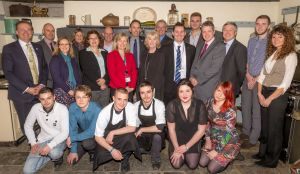 Delegates and apprentices at the River Cottage Summit