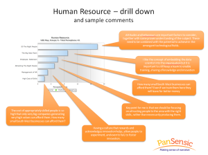 Big Data Human Resource Drill Down and Sample Comments