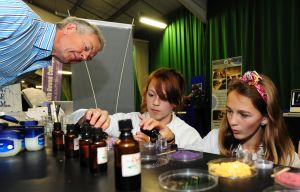 Petroc students hands-on at Big Bang