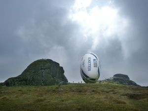 Promoting RWC 2015 coming to Devon