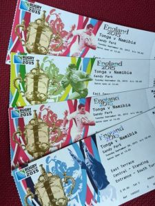 Rewarding hard work and celebrating success. Young People and Mentors RWC 2015 Tickets.