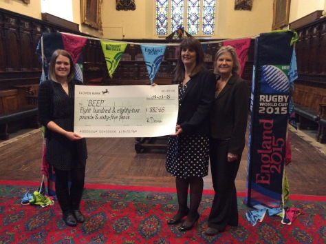 Guildhall RWC2015 donation